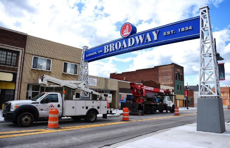 Broadway in Lorain could open by next week